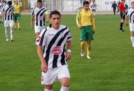 Stanciu, pe vremea când juca în alb-negru, la Alba Iulia